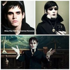 My Chemical Romance ~ Mikey Way : So you're saying his doppelganger is Johnny Depp? Ok...