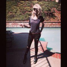 Frances Bean Cobain(lil nugget bean's all grown up!) ♥