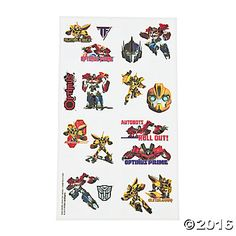 Transformers™ Tattoos