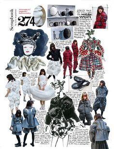 Padding changes everything - Vogue. A Level Art Sketchbook, Textiles Sketchbook, Fashion Design Sketchbook, Fashion Design Portfolio, Fashion Illustration Sketches, Fashion Sketches, Illustrations, Fashion Story, Fashion Art