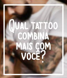Você já sabe qual estilo de tatuagem tem mais a ver com você? Teste para descobrir qual estilo de tatuagem combina mais com você. Dicas e ideias de tatuagem masculina e feminina. Qual tattoo tem mais a ver com você.
