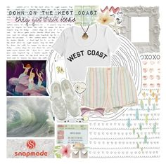"""""""West Coast- Lana Del Rey"""" by charcharr ❤ liked on Polyvore featuring CASSETTE, Emilie Morris, Swarovski, Again, Luli, Stampd, Margaret Howell and River Island"""