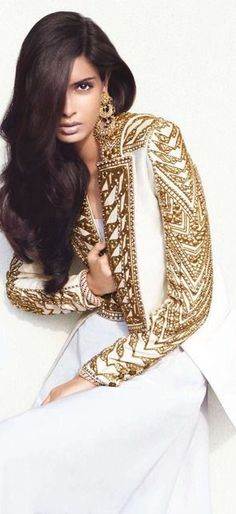 style with Balmain (photographer Luis Monteiro; Vogue_India; Diana_Penty)