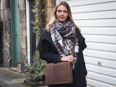 vintage satchel by scaramangashop.co.uk #scaramanga Cute Messenger Bags, Vintage Messenger Bag, Plaid Scarf, Purses And Bags, Satchel, Style, Fashion, Moda, La Mode