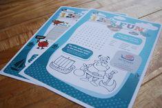 Kids Menus  #kidsmenu #under12s #menu #kids #children #activities #wordsearch #colourmein #design #print