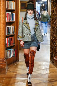 Chanel Pre-Fall 2015 - Collection - Gallery - Style.com Check out those boots