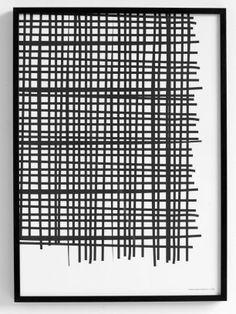 Via Pareovia | Random Squares Print by Therese Sennerholt