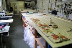 This is a picture of our main workroom.