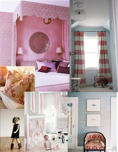1000 Images About Girls Bedroom Curtains On Pinterest