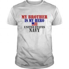 Cool White BROTHER HERO NAVY Kids Shirts Kids T Shirt Shirts & Tees