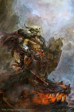 Dragon slayer by Allnamesinuse on deviantART