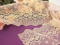 Guipure very beautiful lace border high-end by Eleptolis on Etsy