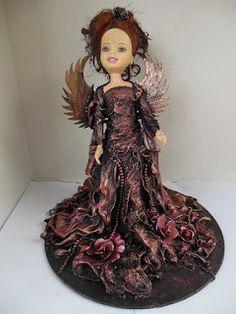 Altered Doll for Southern Girls Challenge Design Team Jan 2016