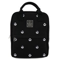 Canvas Backpack, Mini Backpack, Tim Burton, Nightmare Before Christmas, Jack Skellington Head, Laptop Pouch, Mini Mochila, Christmas Canvas, Latest Bags