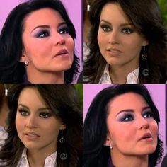 Makes da Novela Teresa Sebastian Rulli, Anna Frozen, Barbie, Prom Hair, Persian Princess, Beautiful Women, Make Up, Hairstyle, Celebrities