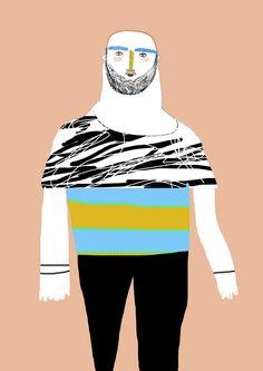 Fashion illustration by Ashley Percival. fashion illustration, fashion art, illustrator, model,