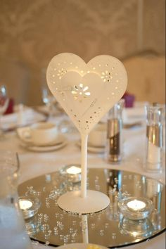 Table centre piece at my wedding