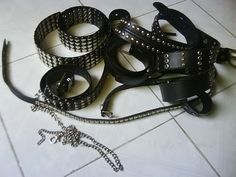 Edward Scissorhands costume: Picture of Things you will need