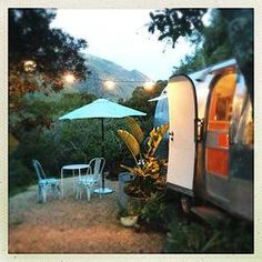 Big Sur Getaway Glamping Airstream Vintage Pet friendly | Glamping