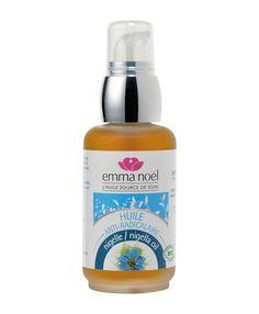 L'huile de Nigelle a des propriétés assouplissante et calmante. #soin #huile