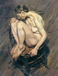 Lucian Freud ... he paints REAL people.  Like his work.
