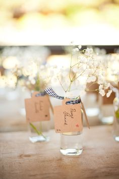 floral seating cards