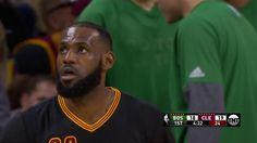 LeBron James and Al Horford both get blocks   Celtics vs Cavs   December 29 2016