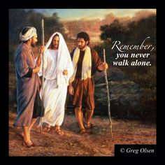 You never walk alone .... Greg Olsen