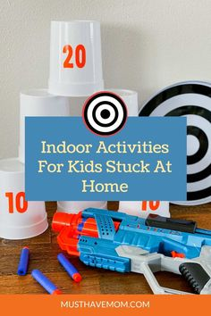 Indoor activities for kids stuck at home! #ad Create your own DIY Nerf targets, competition and dart storage bags! This fun activity can include target practice, competitions adding points and active play. Get the free Cricut project files at Must Have Mom #Cricut #CricutMade Indoor Activities For Kids, Fun Activities For Kids, Sensory Activities, Educational Activities, Family Activities, Target Practice, Kids Health, Kids Education, Diy For Kids