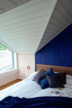 Villa Kapee, asuntomessut, seinäruusu wallpaper