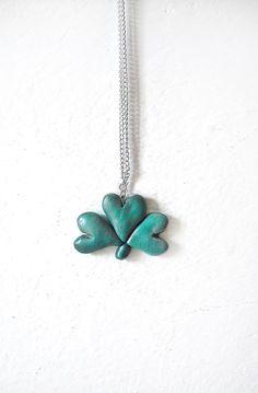 Shamrock Handmade Necklace! https://www.etsy.com/it/listing/222613336/collana-grande-trifoglio-festa-di-san?ref=shop_home_active_1