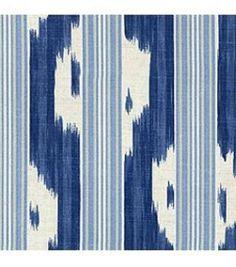Ikat with stripe