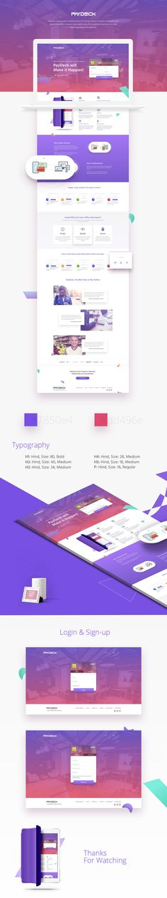 Paydeck | Website Redesign on Behance