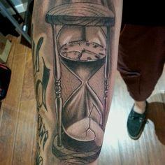 20+ Hourglass Tattoo Designs, Ideas   Design Trends