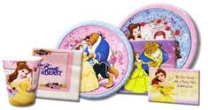 Beauty and The Beast Party Supplies from www.hardtofindpartysupplies.com