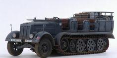 SdKfz 7 1/35 Scale Model
