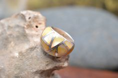 Hey, I found this really awesome Etsy listing at https://www.etsy.com/listing/191584984/large-sterling-silver-dome-ring-with