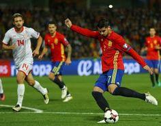 Blog Esportivo do Suíço:  Espanha goleia Macedônia e segue líder do grupo G pelo saldo de gols
