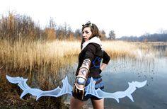 Female Ezreal by d00mka #ezreal #cosplay #femaleezreal #leagueoflegends