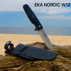 This Nordic W12 by EKA is the perfect fixed blade knife for just about any situation.