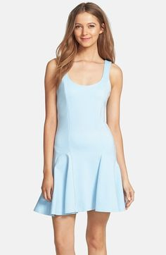 Bardot 'Queenie' Ruffle Hem Fit & Flare Dress (Nordstrom Exclusive) available at #Nordstrom...$98.00