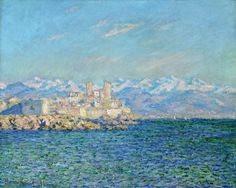 Antibes, Afternoon Effect, 1888 Claude Monet