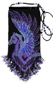 Pegasus Hand Bag Beading Pattern and Kit. (Click on photo to go to this on our site). $42.95