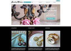 20+ Accessories & Jewelry Website Templates And WordPress Themes