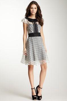 HauteLook   Eva Franco: Kitten Silk Blend Print Dress
