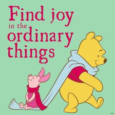 A challenge:  make it a mission to find a joy (blessing) in life every single day!!!  Count me in!