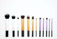 Eye Makeup Brush Starter Kit Real Techniques