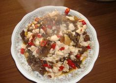 Diced chicken with pickle pepper