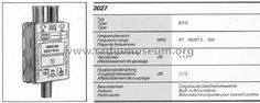 Antennenwerke Bad Antennenweiche 3027.01 uploaded by Wolfgang Eckardt (2)