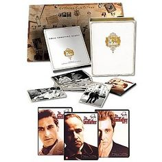 Godfather Trilogy - Luxe Edition (40th anniversary) (3DVD) #godfather #godfathertriology #dvd #40thanniversary